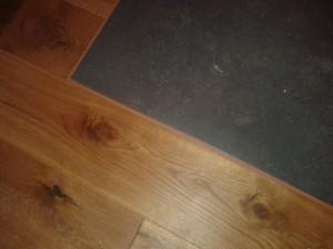 Kafelkarz Gdańsk, zespolenie podłogi drewnianej, z płytkami podłogowymi